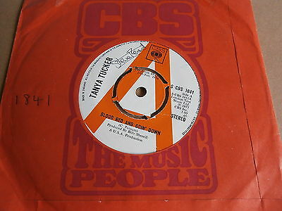 Tanya Tucker Blood Red & Goin' Down Missing Piece Of The Puzzle S Cbs 1841 Promo