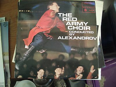 Alexandrov & The Red Army Choir - Russian Folk Songs - MFP 2089 LP Record