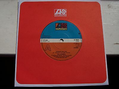 The Trammps, Hooked For Life / It's Alright. Original 1975 Atlantic Single