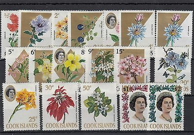 Cook Islands.18 --1967  Qe2 Stamps On Stockcard. 10C Is Missing.