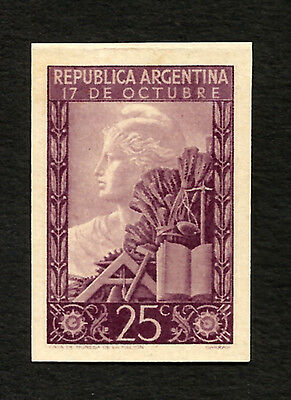 ARGENTINA Pet 499 proof color adopted