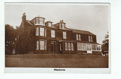 Altachorvie House Lamlash Isle Of Arran Bute Real Photograph Smith Links Side