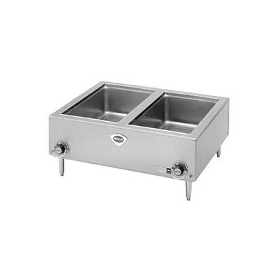 Wells TMPT-D 2 Full Size Pan Countertop Warmer w/ Thermostatic Control