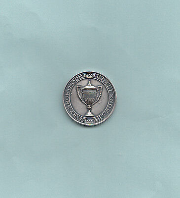 DAIRY SHORTHORN 1926 white metal Challenge Cup medal.Grade XF.