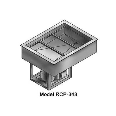 Wells RCP-243 (8) 1/3 Size Pan Drop-in Cold Food Well Unit