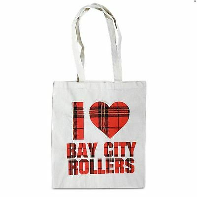 Bay City Rollers Les Mckeown  Official Brand New Coloured Shopping Bag