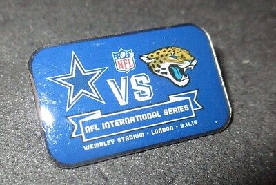 Dallas Cowboys Jacksonville Jaguars Official 2014 Ultra Rare Match Badge