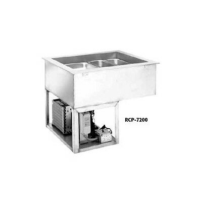 Wells (2) Full Size Pan Drop-In Cold Food Well Unit - Rcp-7200
