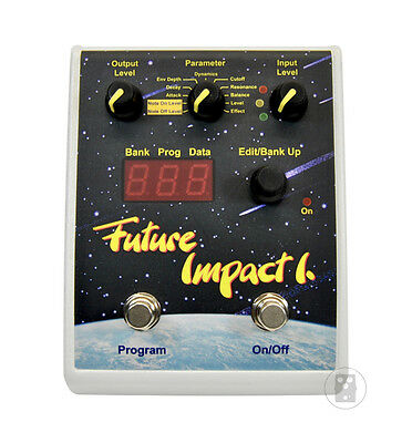 Panda Audio Future Impact Synth Bass Guitar Effect Pedal