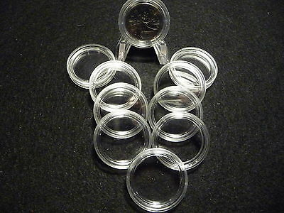 CANADIAN COIN CAPSULES   24 mm  (pkg of 10 )  CND. QUARTERS  (#3)