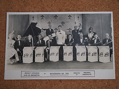 Rp Postcard - Johnny O'rourke & Orchstra Bandshow Of 1956- The Oval Cliftonville