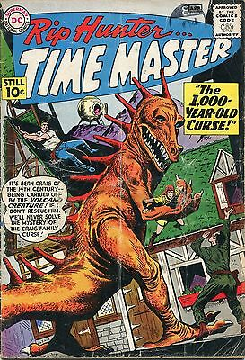 Rip Hunter Time Master # 1  - 1St In Own Series - Key - Tv Dc Legends Hot Title