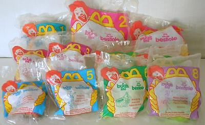 11 Sealed McDonald's 1998 A Bug's Life Toys- New And Unopened