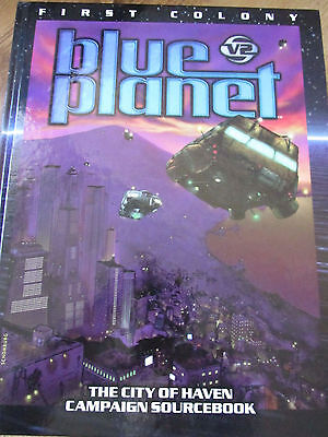 Blue Planet V2 First Colony City Of Haven  Hb Hc Rpg Vgc