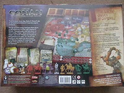 Age Of Conan Strategy Boardgame  Ff Fantasy Flight Games New Sw Sealed Boxed