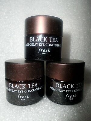 Fresh Black Tea Age Delay Eye Concentrate Total 15 Ml /  0.5 Oz New