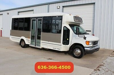 2006 Ford E-450 Used Passenger Shuttle Transport Party Limo Conversion Clean