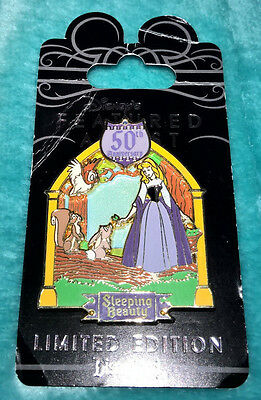 DISNEY ~ PIN ~ SLEEPING BEAUTY ~ FEATURED ARTIST ~ 50th ANNIVERSARY ~ LE1000