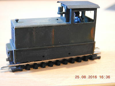 """""""009"""" 4mm RNAD 99hp BAGULEY -DREWRY DCC FITTED LOCOMTIVE KATO ENGINE"""