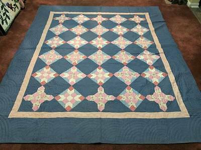 "Fantastic Quilting ""Farmer's Daughter"" Antique Quilt w/Provenance"