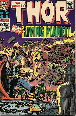 The Mighty Thor Comic Book #133, Marvel Comics 1966 FINE+