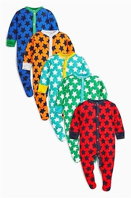 New! Next! Baby boys sleepsuits  babygrows 0-3 months