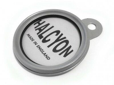 Stainless Steel Classic Halcyon Tax Disc Holder 100% Water Proof