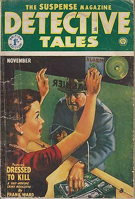 Detective  Tales  Nov 1954     British Edition Of An American Publication