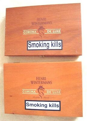 2 Very Clean Cigar Boxes