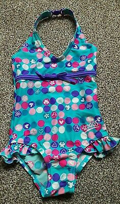 GIRLS swimsuit 1-2 yr / size 1.  Zoggs