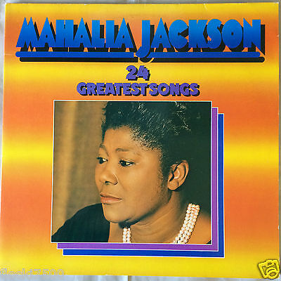 "Mahalia Jackson 24 24 Greatest Songs 12"" Vinyl 2LP 1974 Gospel 2-763"