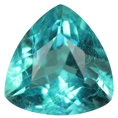 1.01 Ct Awesome! 100% Natural  Paraiba Color Apatite.