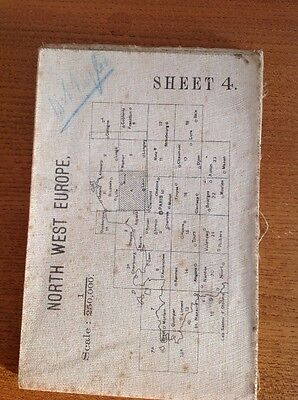 War Office Map North West Europe Sheet 4 Revised Edition 1915
