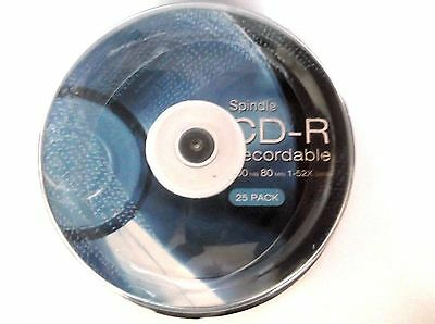 CD-R Spindle 25 pack New & Sealed.