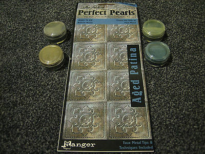 Perfect Pearls Aged Patina - Faux metal