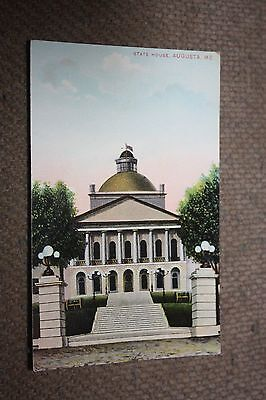 Vintage Postcard State Capitol, Augusta ME. #3