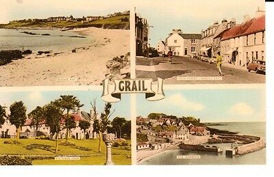 Early CRAIL - multiview including High Street looking East, published by M and L