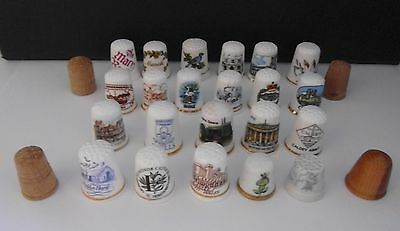 26  Assorted  Thimbles