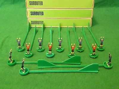 Subbuteo Spare Goalkeepers X 12