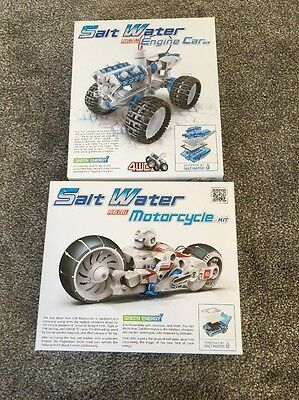 Salt Water Fuel Cell Kits Motorcycle And Engine Car BNIB