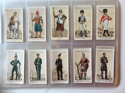 Players Uniforms of the Territorial Army Full Set (50) 1939