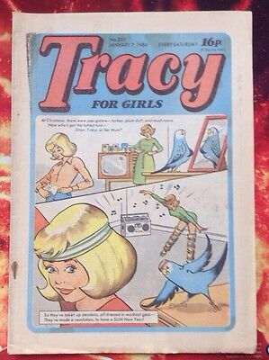 TRACY COMIC No. 223. 7 JANUARY 1984. VFN. Unread/Unsold Newsagents Stock.