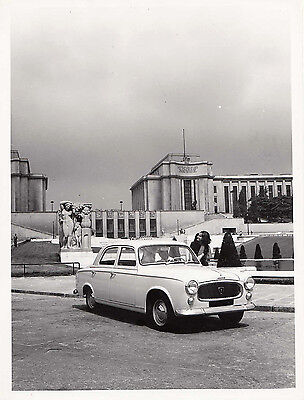 Peugeot Berline Luxe 403 Sept, Period Photograph.
