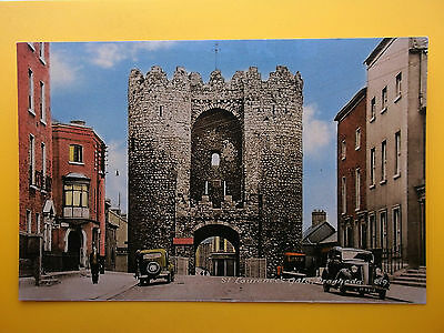 St Laurence's Gate DROGHEDA County Louth Ireland c1950s Standard Size Old Cars