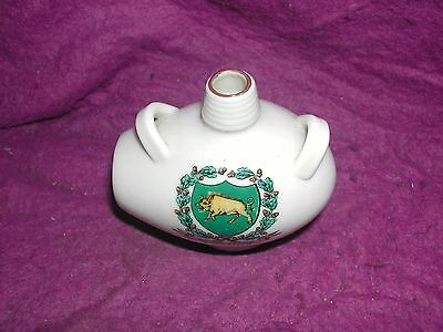 Goss Crested China Ostend Bottle. Bromsgrove.