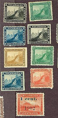 Nicaragua  Forgery Lot  (Ct30,2