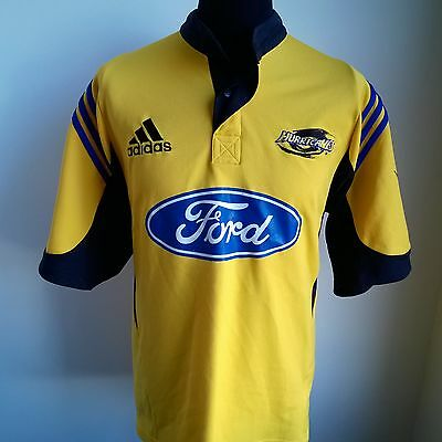 Wellington Hurricanes 2003 Home Union Rugby Shirt Adidas Jersey Size Adult L