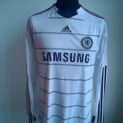 Chelsea 2009 Third Football Shirt L/s Adidas Jersey Size Adult L