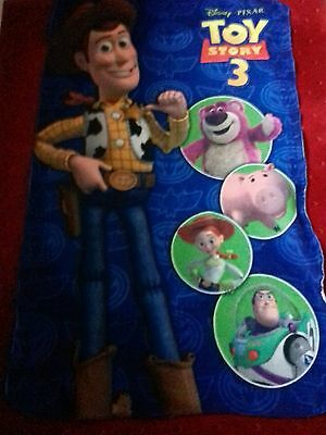 "Small 48x28"" fleece Toy Story blanket"