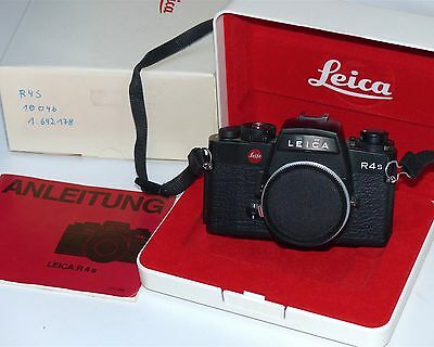 Leitz Leica R4S mit OVP in black nice condition